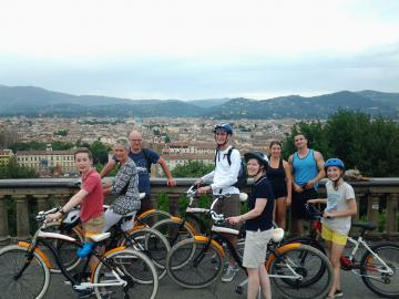 Private Florence Panoramic Sunset Bike Tour